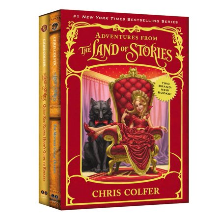 Land of Stories: Adventures from the Land of Stories Set: The Mother Goose Diaries and Queen Red Riding Hood's Guide to Royalty (Hood Guide)