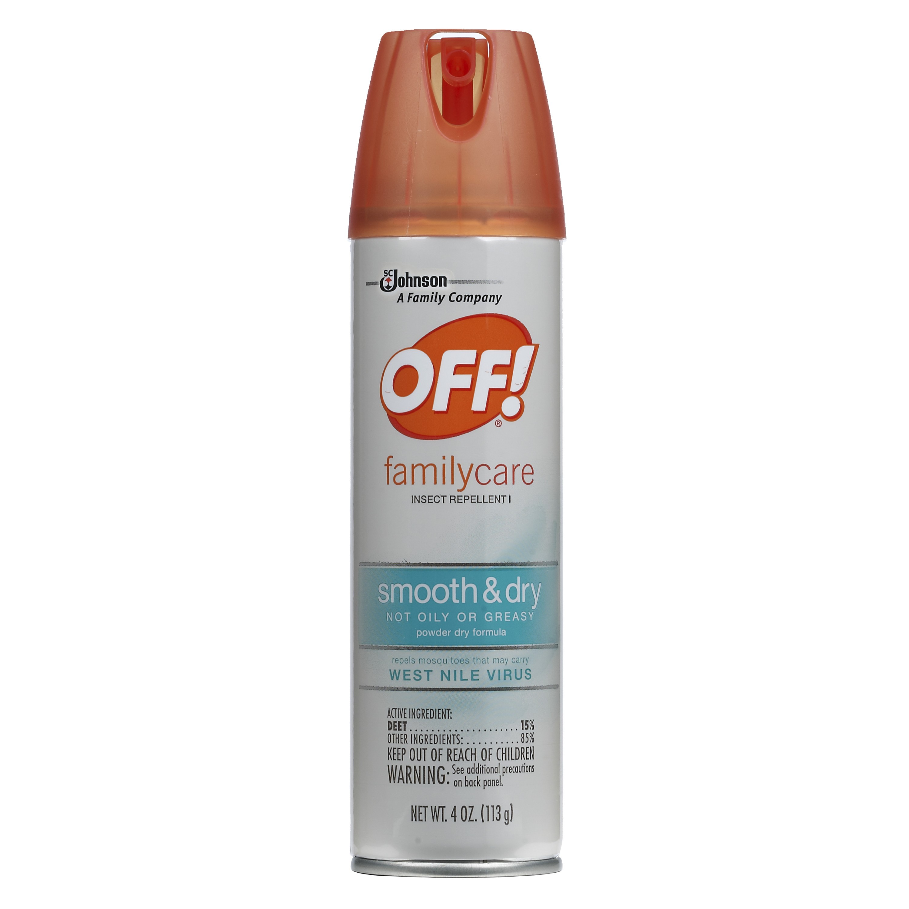 Off! Family Care Smooth & Dry, 4 Oz