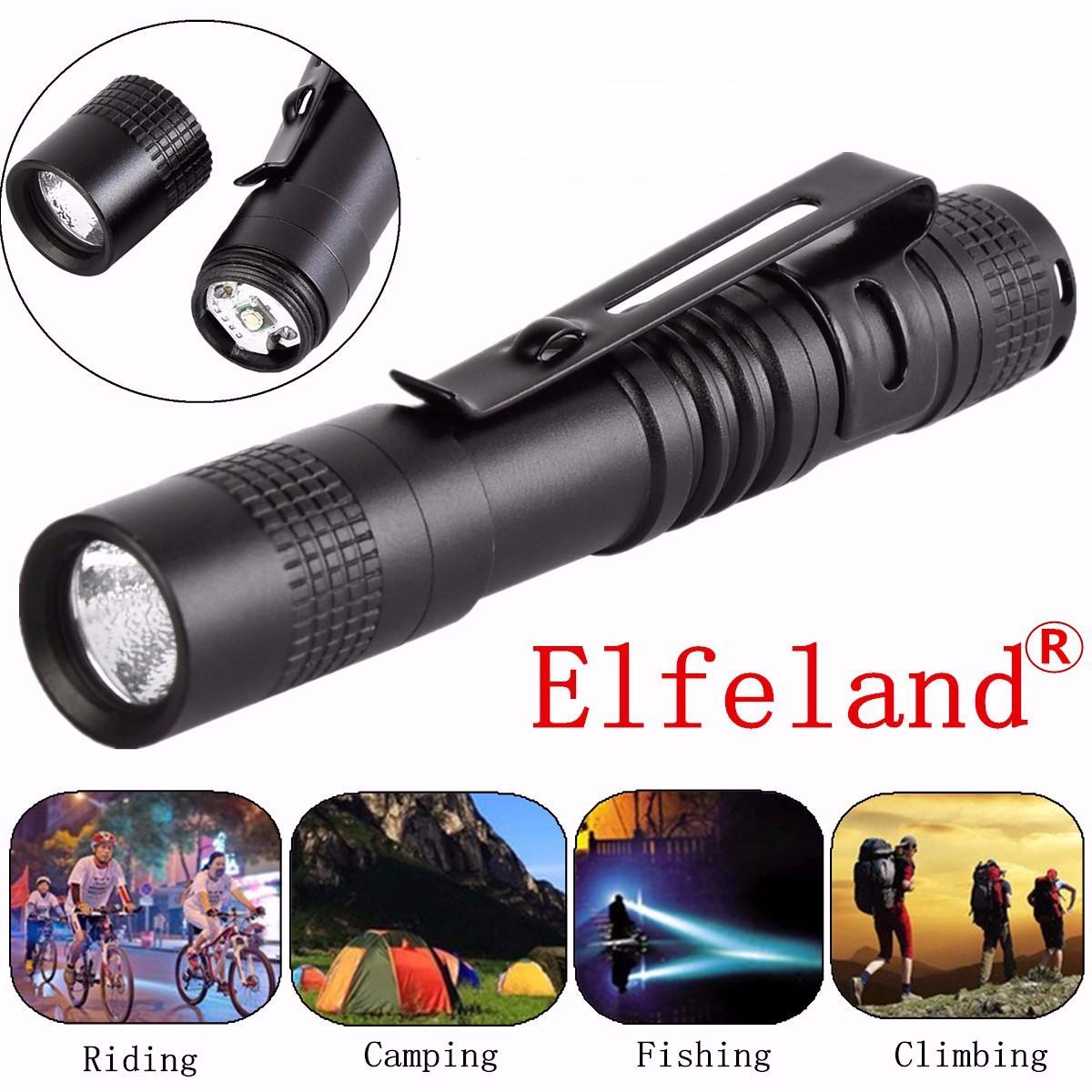 5-Pack LED Mini Flashlight Torch Portable Flashlight Pocket Outdoor Camping Penlight Lighting Lamp Light For Camping Hiking