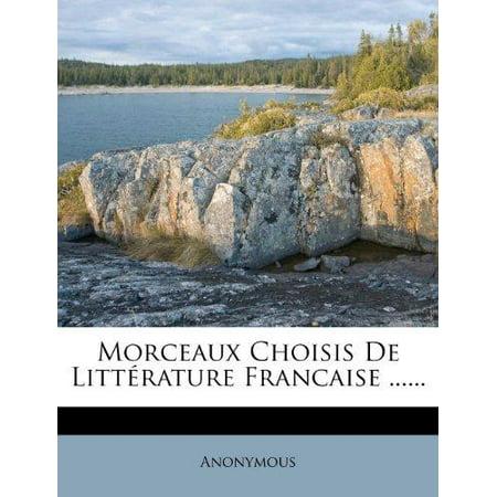 Morceaux Choisis de Litterature Francaise ...... - image 1 of 1