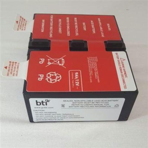 Bti Ups Battery Pack - 9000 Mah - 19 V Dc - Sealed Lead Acid - Sealed (apcrbc124-sla124)
