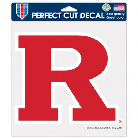 Rutgers Scarlet Knights WinCraft 8'' x 8'' Color Car Decal - No Size