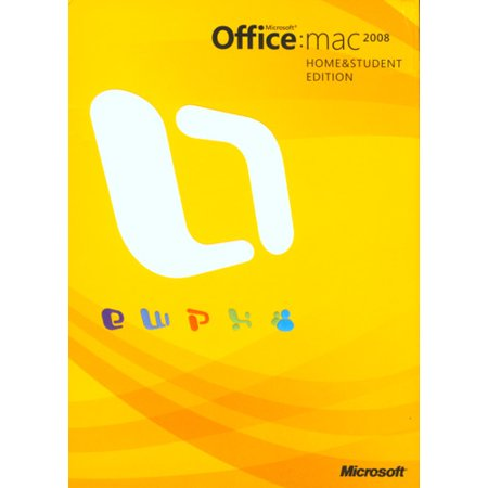 Microsoft Office '08 Home & Student for Mac - 3 User Family Pack