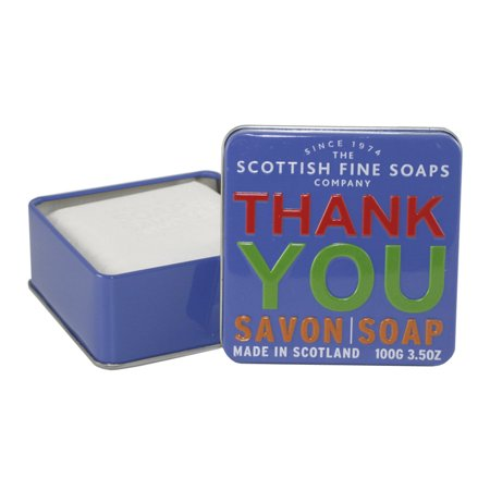 Thank You Soap Finest Triple Milled Soap 3 5 Oz   100G Tin