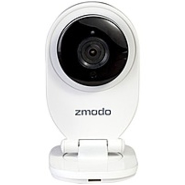 Refurbished Zmodo Network Camera - Color - 32.81 ft Night Vision - H.264 - 1280 x 720 - 2.10 mm - Wireless