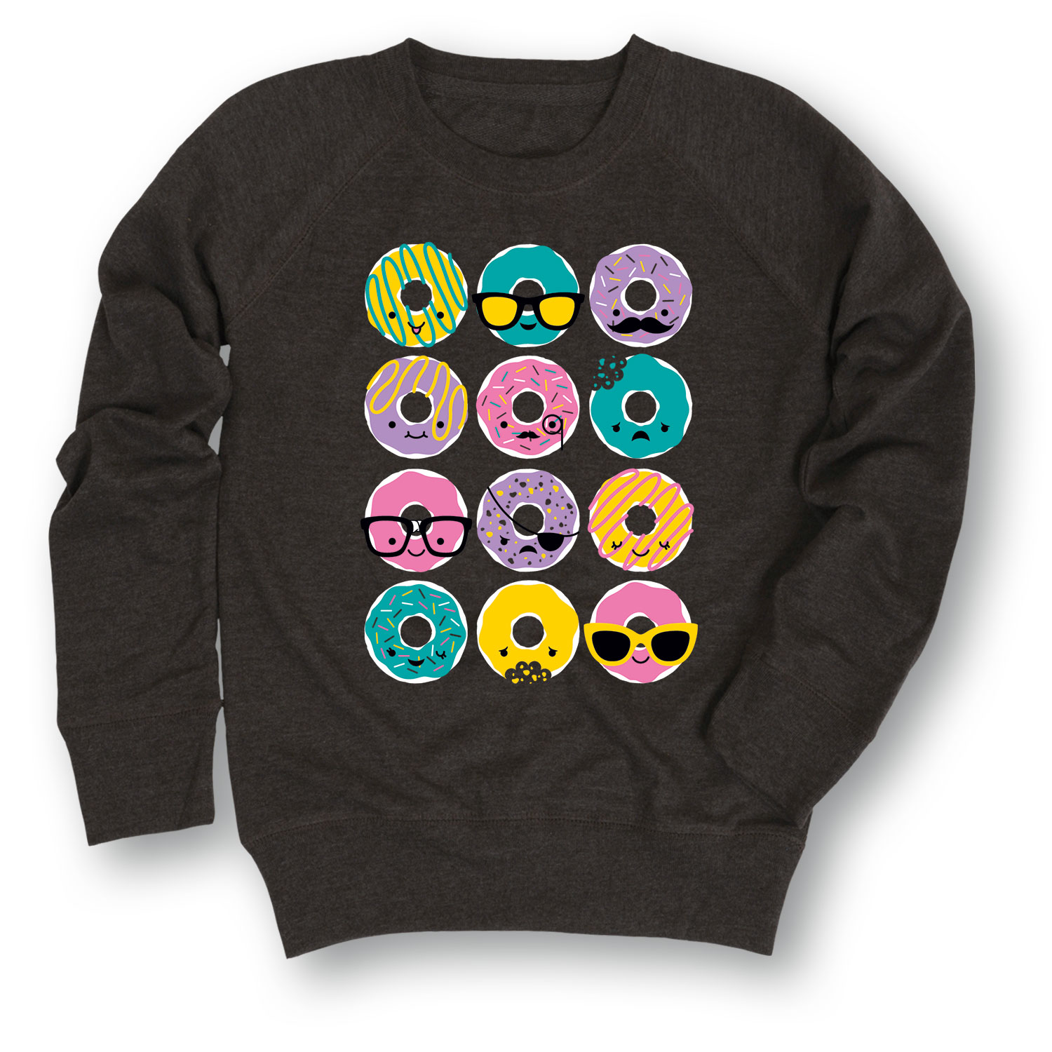 Kawaii Donuts - YOUTH GIRLS SLOUCHY FT