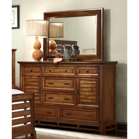 Progressive Furniture Catalina 7 Drawer Dresser