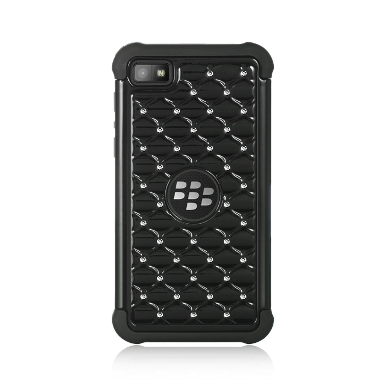 Insten Diamond Hard Hybrid TPU Case w/Diamond For BlackBerry Z10