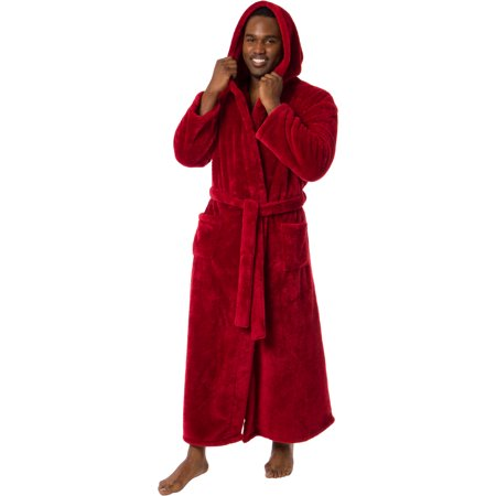 Sonoma Robe (Ross Michaels Mens Luxury Hooded Full Length Big and Tall Long Bath)