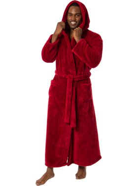28894fd117 Product Image Ross Michaels Mens Luxury Hooded Full Length Big and Tall Long  Bath Robe