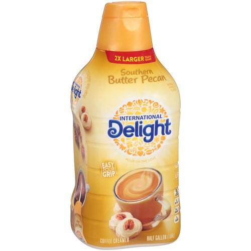 International Delight Southern Butter Pecan Coffee Creamer, 0.5 gal