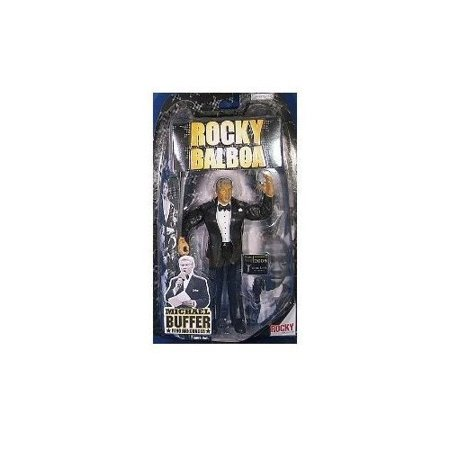 Rocky Balboa Accessories (Rocky Balboa Michael Buffer Action Figure by Rocky)