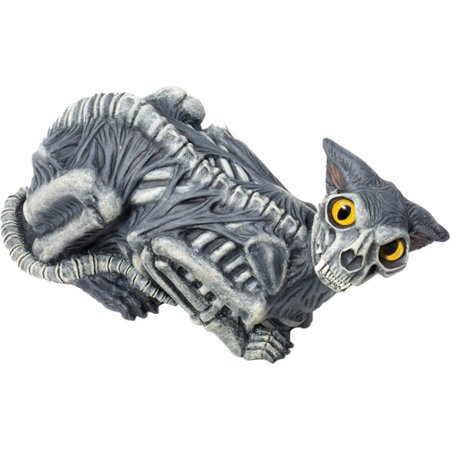 Zombie Cat Halloween Prop
