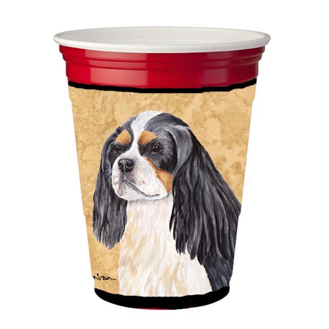 Cavalier Spaniel Red Solo Cup  Hugger - image 1 de 1