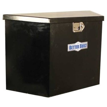 BETTER BUILT 66212324 UTILITY TRAILER TONGUE BOX, BLACK STEEL, TALL, V (Best Built Utility Trailers)