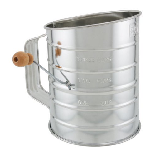 Click here to buy BRADSHAW INTERNATIONAL 24302 3Cup Steel Flour Sifter by Bradshaw International.