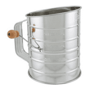 BRADSHAW INTERNATIONAL 24302 3Cup Steel Flour Sifter