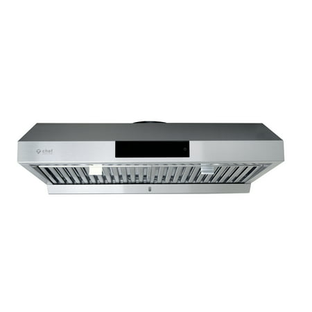 "Chef's PS18 36"" Under Cabinet Range Hood, Stainless Steel