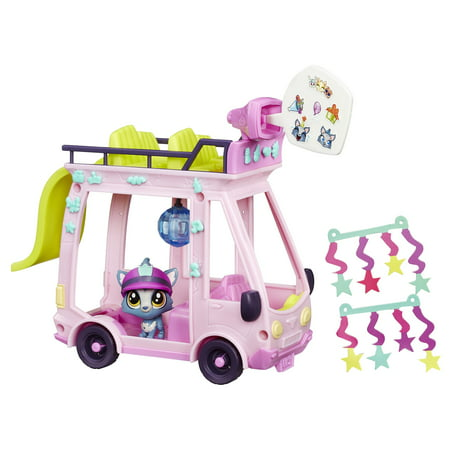 Littlest Pet Shop LPS Shuttle - Pet Shop Party