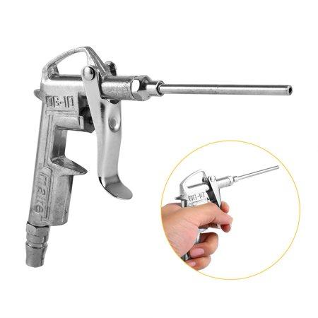 WALFRONT Air Compressor Dust Duster Trigger Handle 1/4  Compressed Alloy Nozzle Blow Gun DG-10, Air Blow Gun,Air Compressor