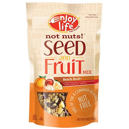 Enjoy Life Not Nuts! Beach Bash Nut Free Seed and Fruit Mix, Gluten, Dairy, Nut & Soy... by Generic