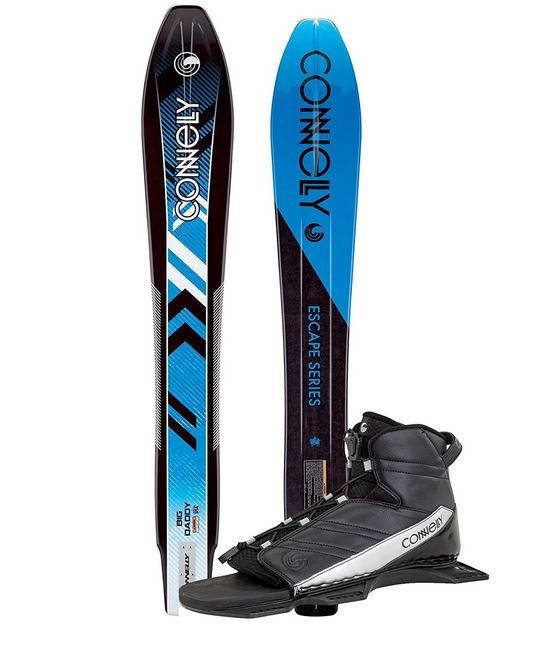 Click here to buy Big Daddy with Nova Bindings Connelly Slalom Water Ski by Connelly.