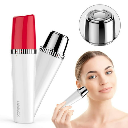 Facial Hair Remover for Women,XPREEN Painless Epilators Lady Shaver Bikini Trimmer Women's Face Hair Removal Body Razor for Peach Fuzz Fine Hair Chin Cheek Upper