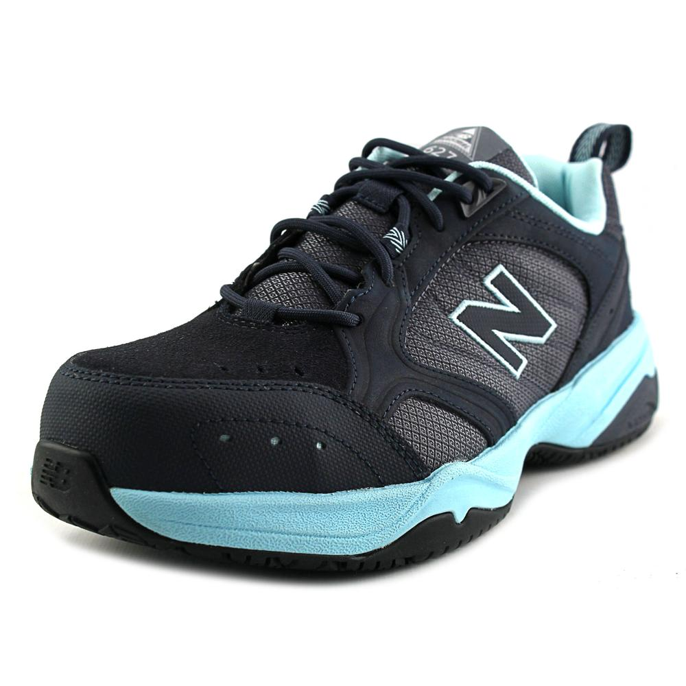 New Balance WID627 Women D Round Toe Synthetic Black Sneakers