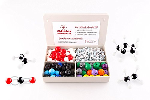 Organic Chemistry Model Kit (239 pieces). Molecular Model Kit with Atoms, Bonds and... by Old Nobby