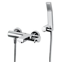 WS Bath Collections Fonte Ringo 023 CR Tub Filler with Handshower