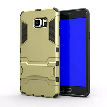 Galaxy Note 5 Case, Slim Cyber Armor [Kickstand] Hybrid Dual Layer [Shock Resistant] Case Cover for Samsung Galaxy Note 5 -