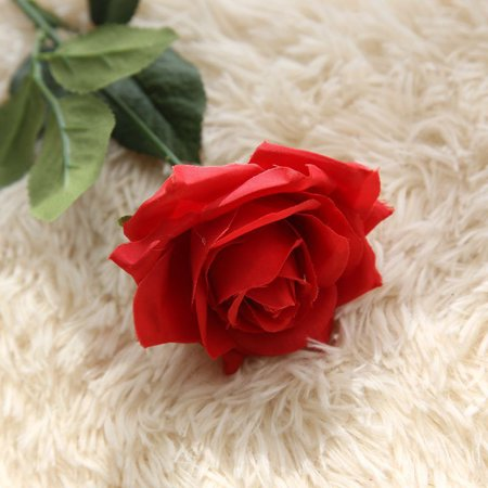 Valentine's Day Artificial Fake Flowers Roses Floral Wedding Bouquet Party Home Decor