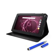 Hipstreet 9TB39-BND6 Pulse 9 inch 8 GB Quad Core Google Certified Android Tablet with Stylus And Standing Portfolio Case