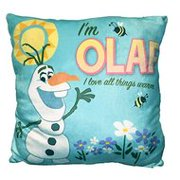Disney's Frozen Olaf Blue Travel Kids Pillow