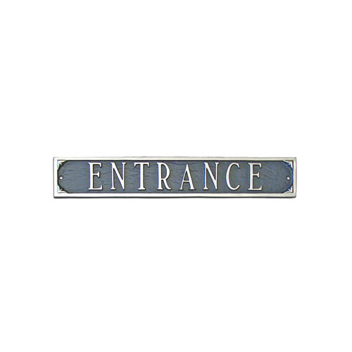 Montague Metal Products Inc. Address Plaque