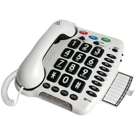 Geemarc AMPLICL100 40dB Amplified Telephone 40 Db Amplified Speakerphone