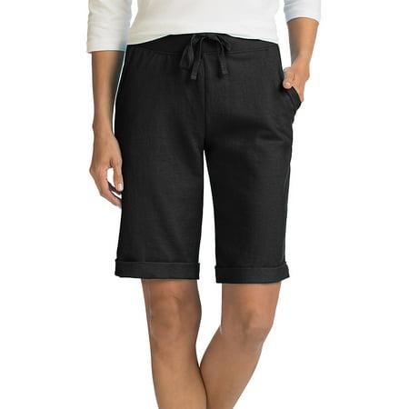 Hanes Women's French Terry Bermuda Pocket Short -