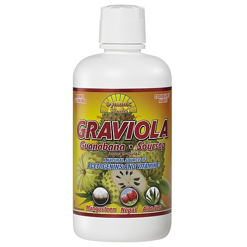 Dynamic Health Graviola Guanabana-Soursop Extract Superfruit Juice Blend - 32 Ounce