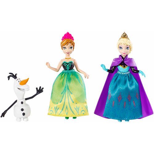 Disney Frozen Small Doll Character 3-Pack Set
