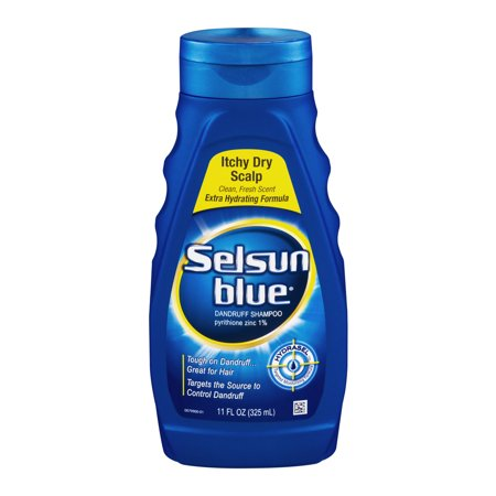 Selsun Blue Itchy Dry Scalp Shampoo  11 Oz