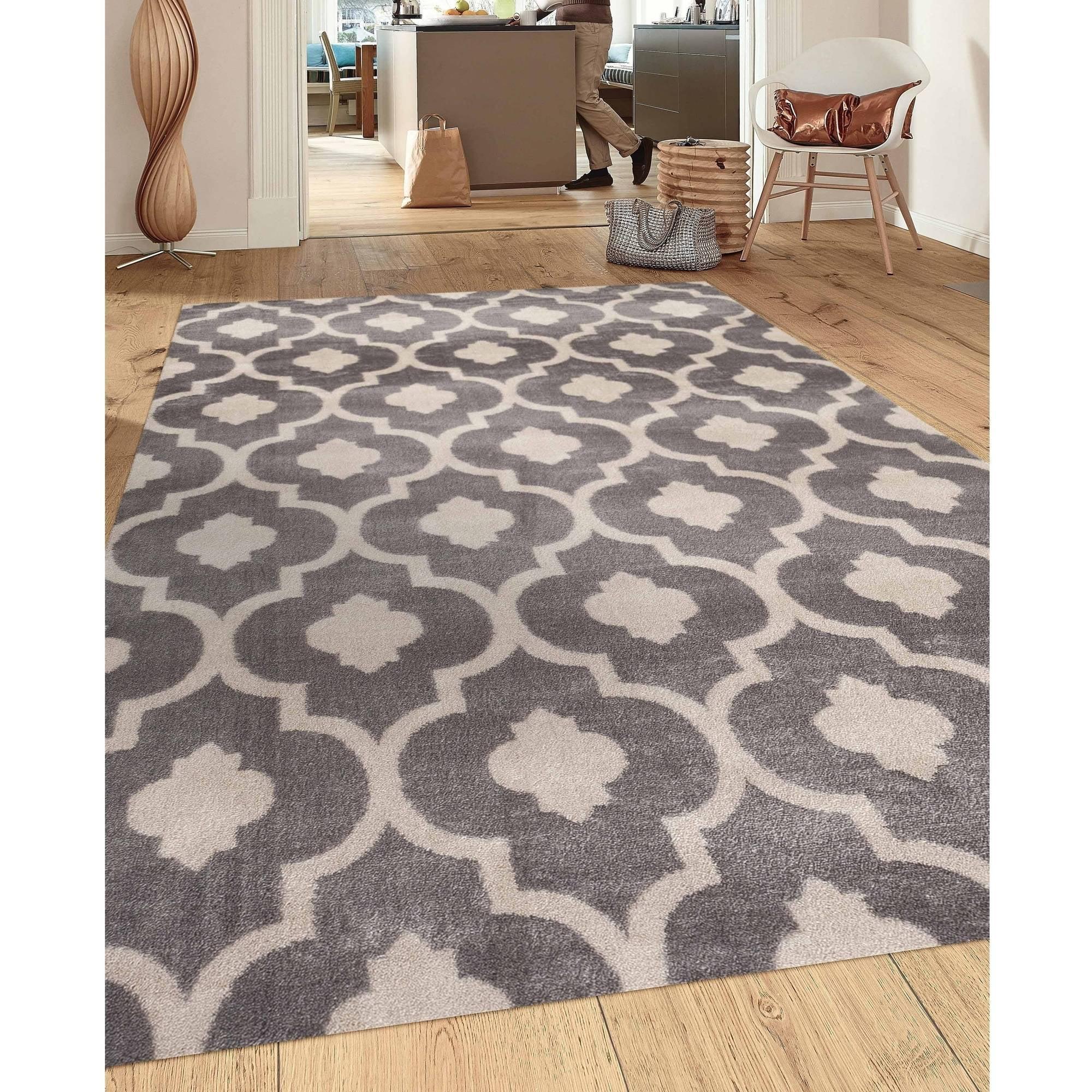 Beautiful World Rug Gallery Moroccan Trellis Contemporary Indoor Area Rug    Walmart.com