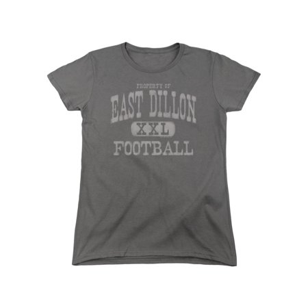 Friday Night Lights Teen Sports Drama Series East Dillon XXL Women's T-Shirt Tee