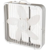 "Comfort Zone Cz200u 20"" 3-Speed Box Fan with Top Handle"
