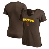 San Diego Padres Fanatics Branded Women's Cooperstown Collection Wahconah T-Shirt - Brown