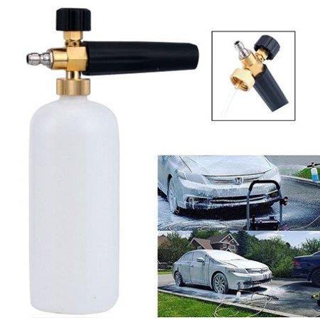 High Output Snow (Smartasin High Pressure Washer Gun Snow Foam Lance Car Cleaning Tool Washer Bottle)