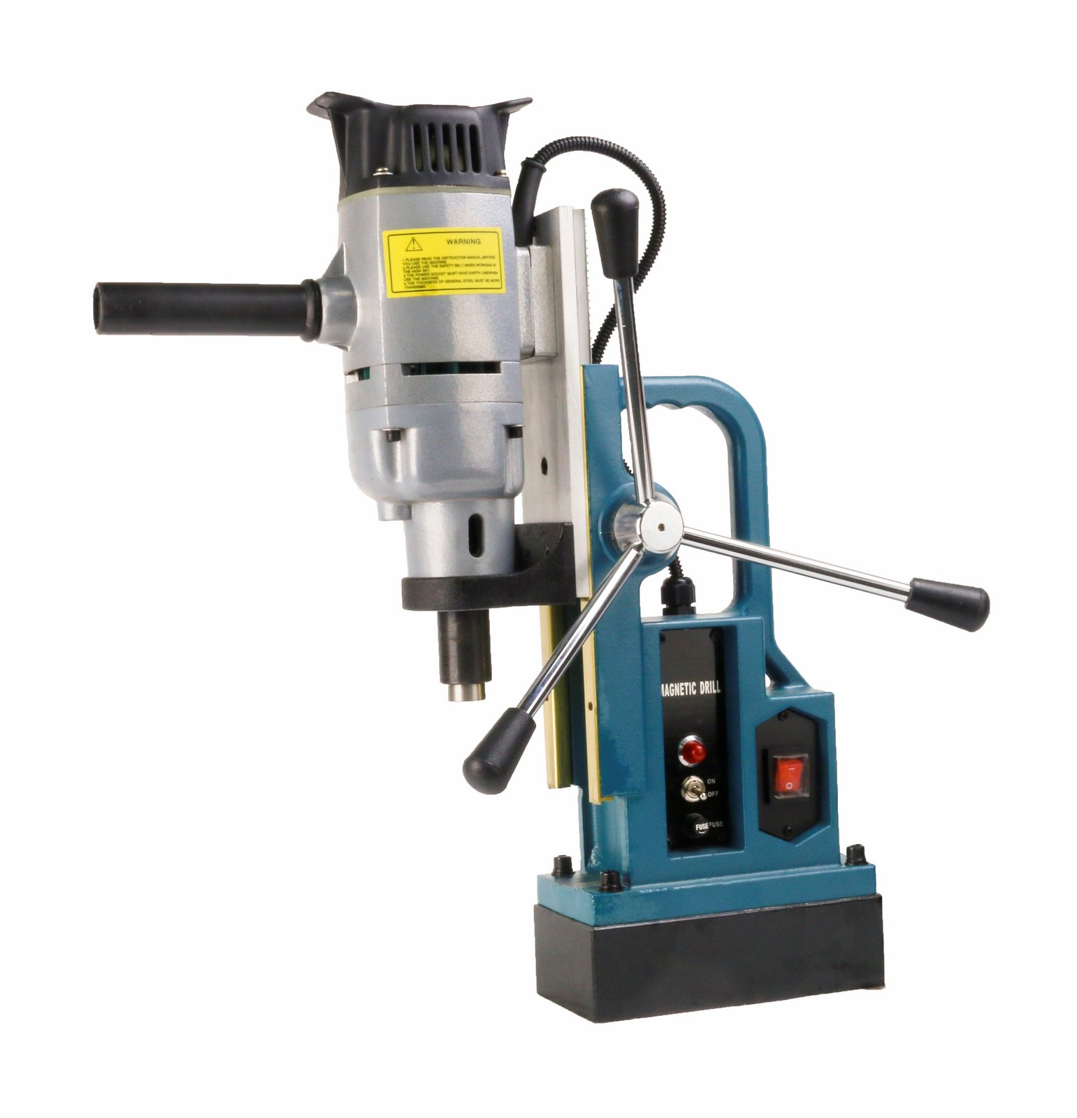 SDT MD103 1�� Magnetic Drill Press with MT3 Spindle Taper and 1350 W Motor