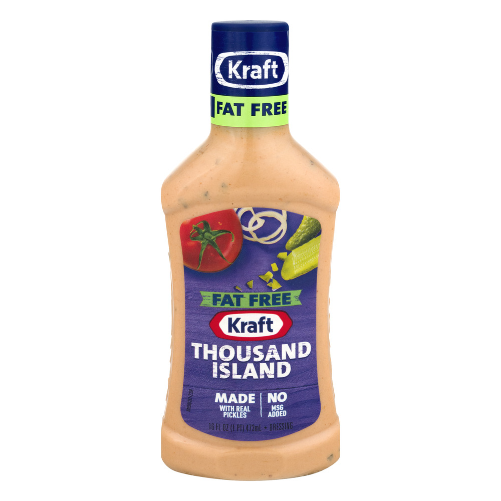 Kraft Fat Free Dressing Thousand Island, 16.0 FL OZ