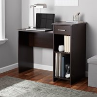 Deals on Mainstays Student Desk with Easy-glide Drawer