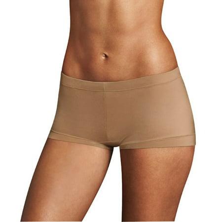 b03b8e9f7982 Maidenform - Women's Sweet Nothings Microfiber Boyshort Panties - 3 Pack -  Walmart.com
