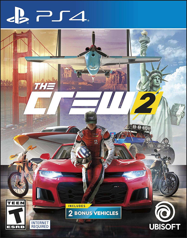 The Crew 2, Ubisoft, PlayStation 4, 887256029128